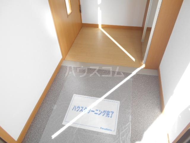 ソレイユD 101号室の玄関