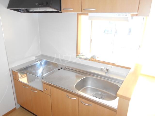 ソレイユD 101号室のキッチン