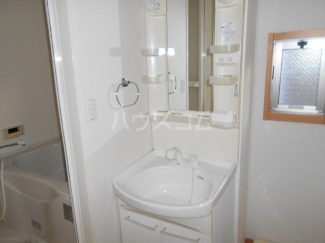 ソレイユD 101号室の洗面所