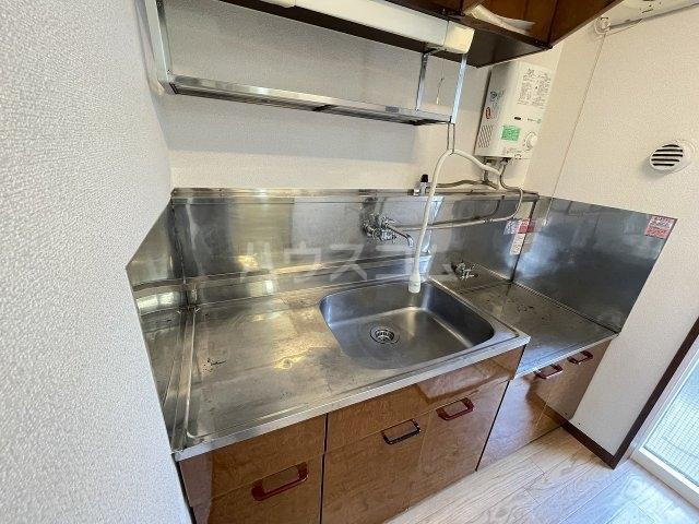 奥沢コーポラス 205号室のキッチン
