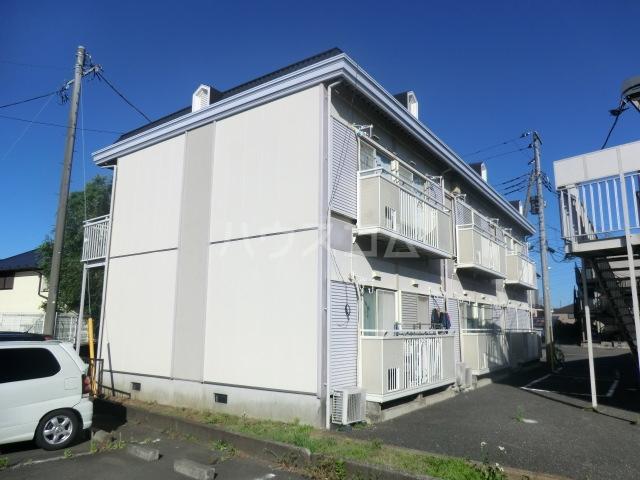 柴田ガーデンハイツF棟の外観