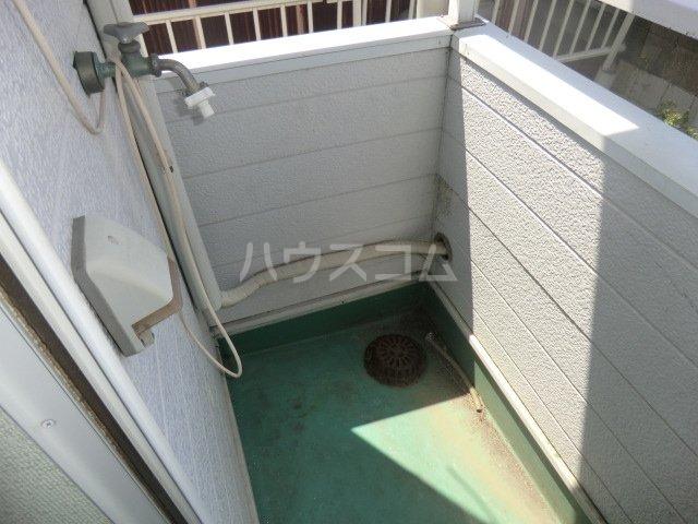 コスモ21有楽 113号室のバルコニー