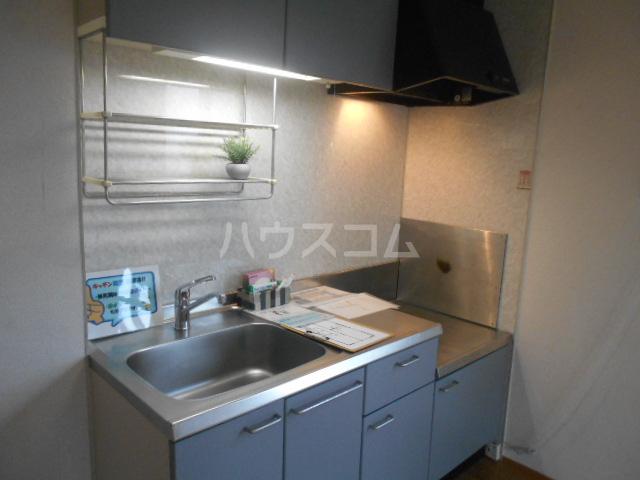 ペルシュワール 101号室のキッチン