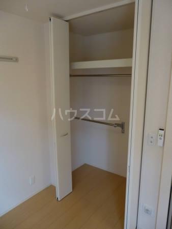 コンフォール 202号室の収納