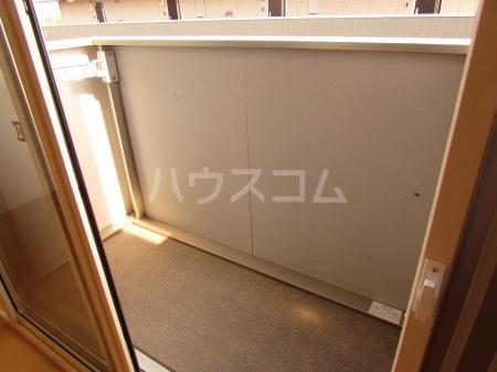 ぱるタウン B 202号室のバルコニー