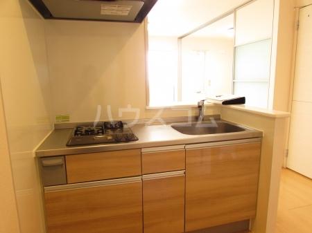 ぱるタウン B 202号室のキッチン