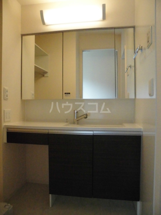 D-room大崎 101号室の洗面所