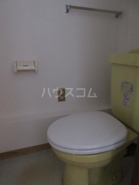シティハイム赤岩口 C号室のトイレ