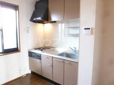 エルパティオ須長Ⅱ 202号室のキッチン