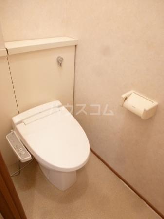 エルパティオ須長Ⅱ 202号室のトイレ