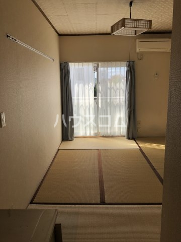 セントラルプラザ 201号室のベッドルーム