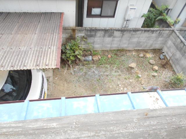 小俣町戸建の庭
