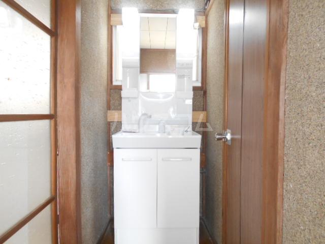 小俣町戸建の洗面所