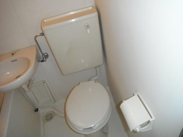 リバティ中浦和A棟 203号室のトイレ