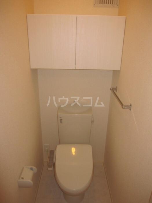 Forest Villa 201号室のトイレ