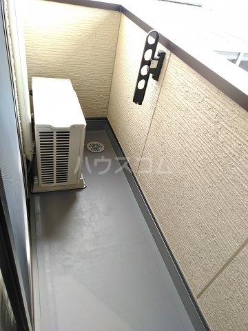 グリーンステージ松井A 201号室のバルコニー