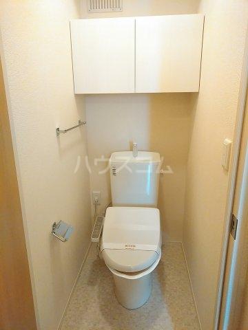 グリーンステージ松井A 201号室のトイレ
