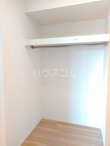 グリーンステージ松井A 201号室の収納