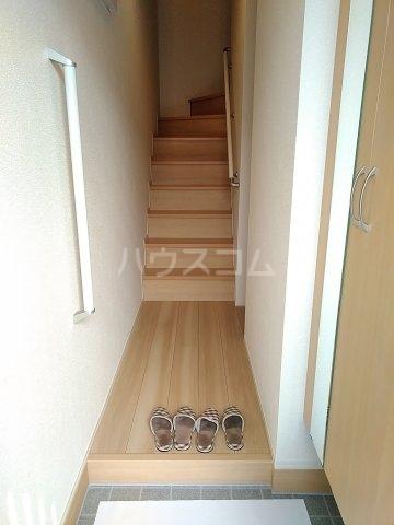 グリーンステージ松井A 201号室の玄関