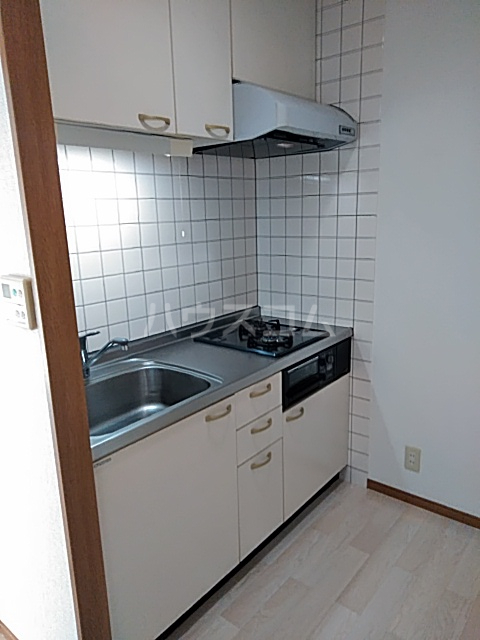 メゾン等々力 101号室のキッチン