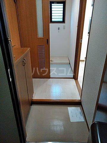 メゾン等々力 101号室の玄関