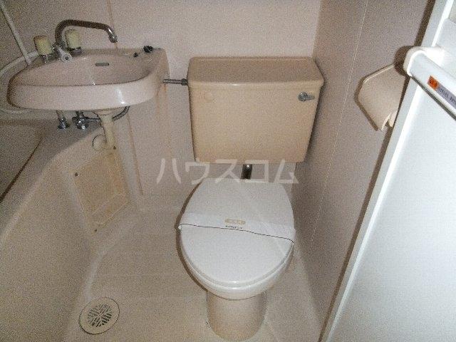 ベルシティ四谷 102号室のトイレ