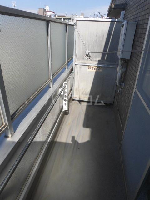 メゾンマークワン 402号室のバルコニー