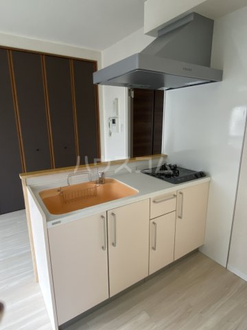 プログレスアサダ瓦町 205号室のキッチン