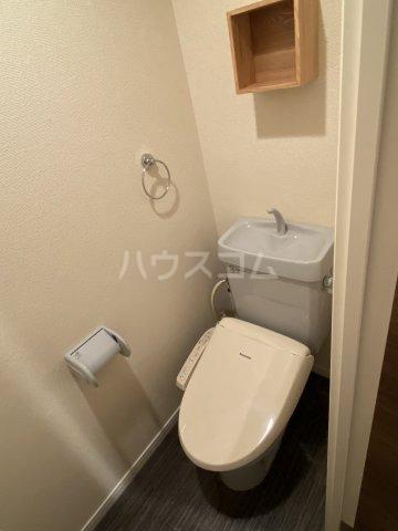 プログレスアサダ瓦町 205号室のトイレ