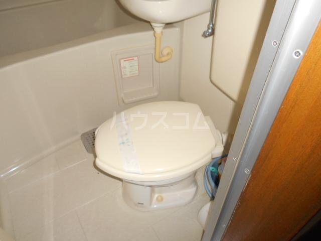 坂西荘 201号室のトイレ