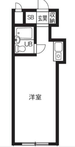 ペガサスマンション経堂・424号室の間取り