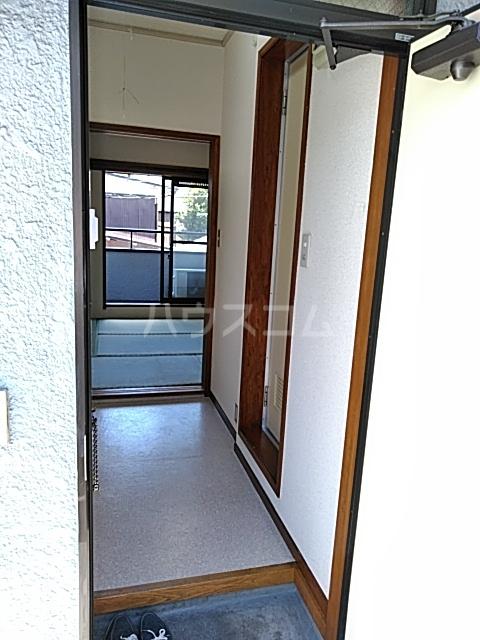 セシール若尾 101号室の玄関