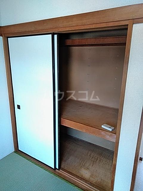 セシール若尾 101号室の収納