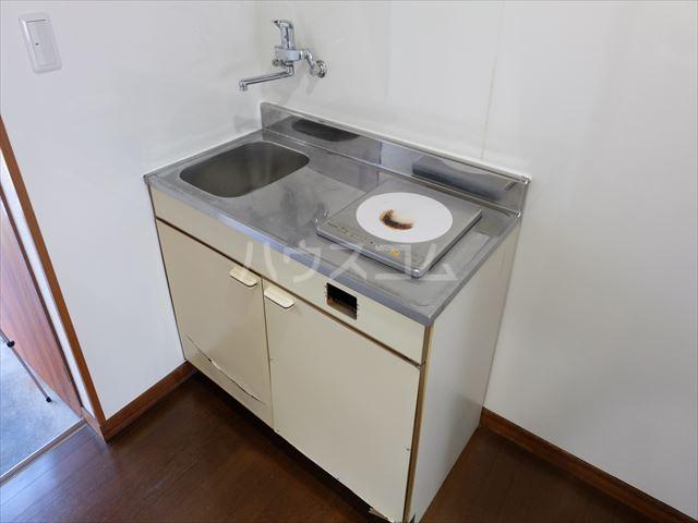 メゾン・ド・ブランネージュ 201号室のキッチン