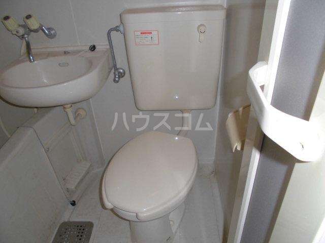 コーポ山合 B201号室のトイレ