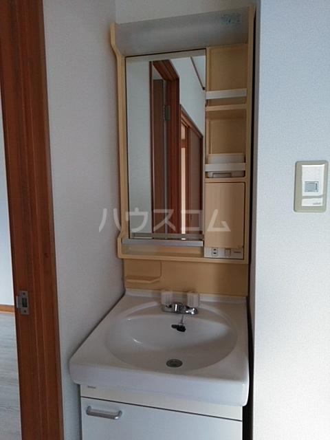 プラザ22 301号室の洗面所