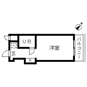 TOP・成増第3・109号室の間取り