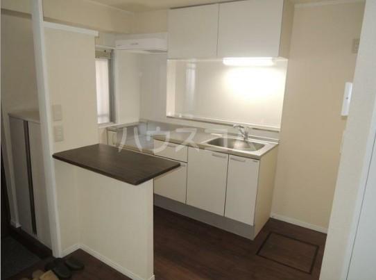 いづみレジデンスB棟 204号室のキッチン