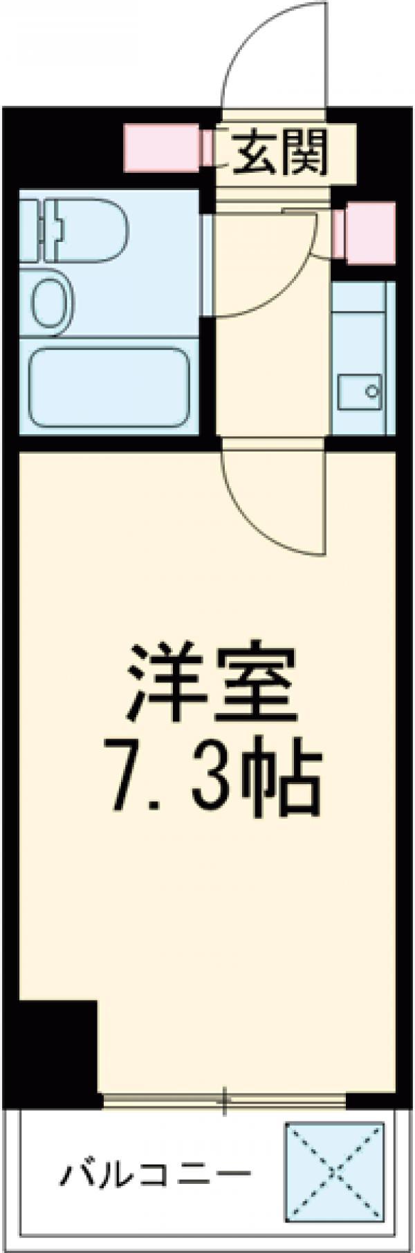 板橋昭和ビル徳丸・210号室の間取り