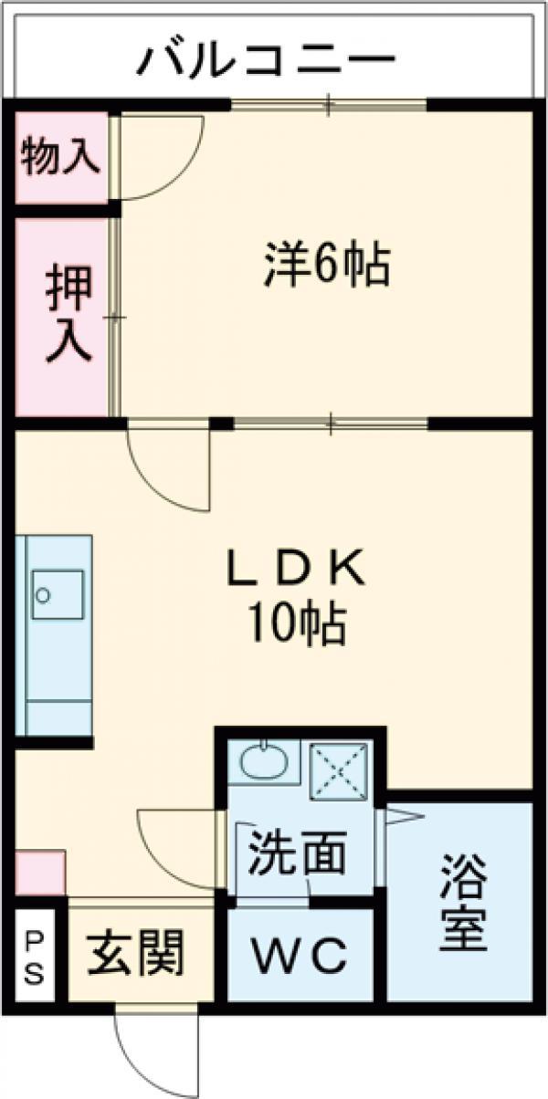 センチュリーヤマタケ・102号室の間取り