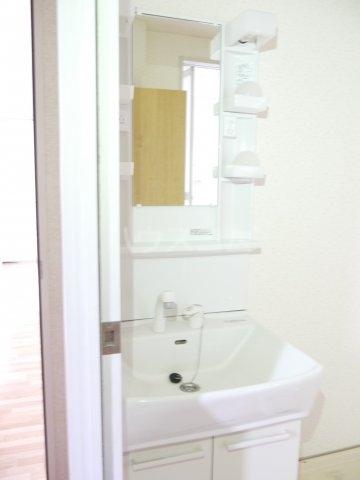 ボナール滝澤A 101号室の洗面所