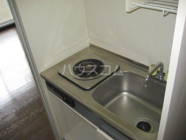 ハイムユタカ 101号室のキッチン