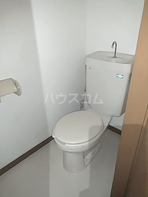 リバパレス 204号室のトイレ