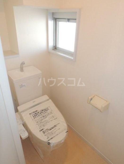 いづみレジデンスB棟 502号室のトイレ
