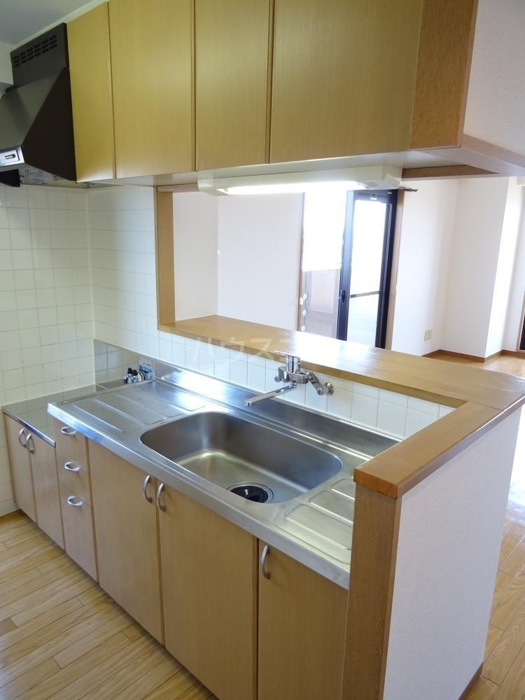 コスモス 601号室のキッチン