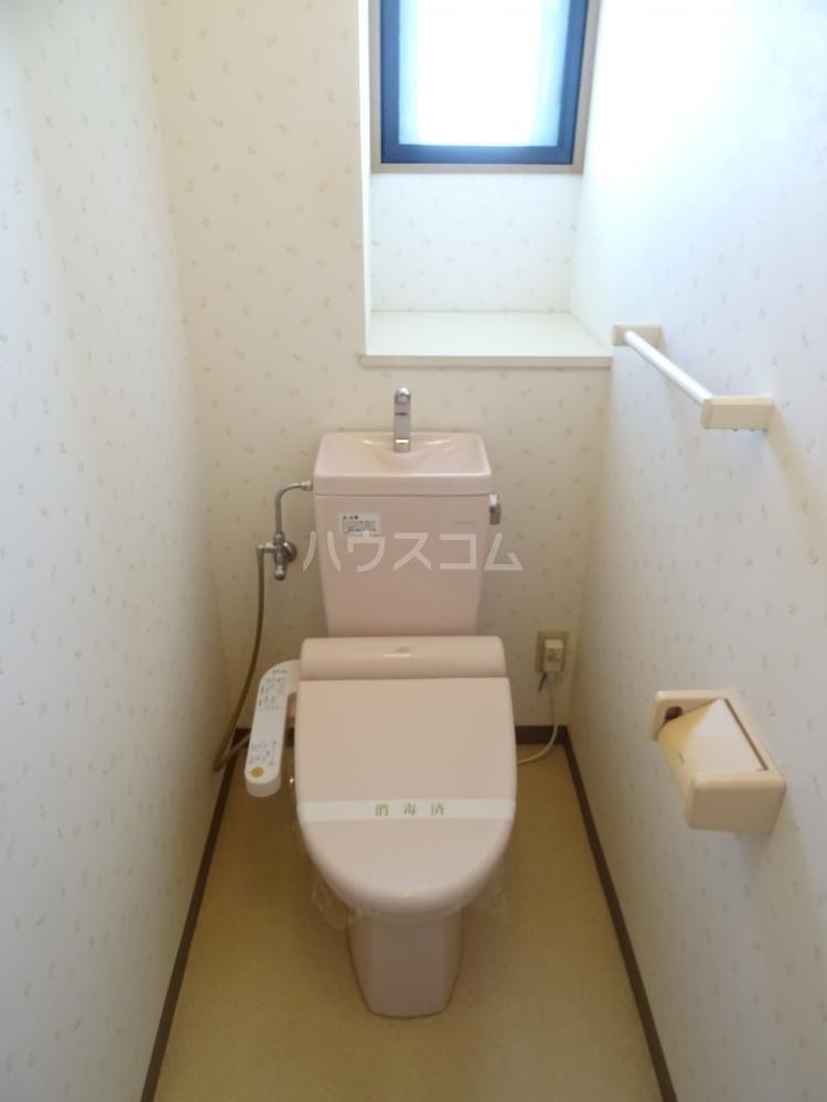 コスモス 601号室のトイレ