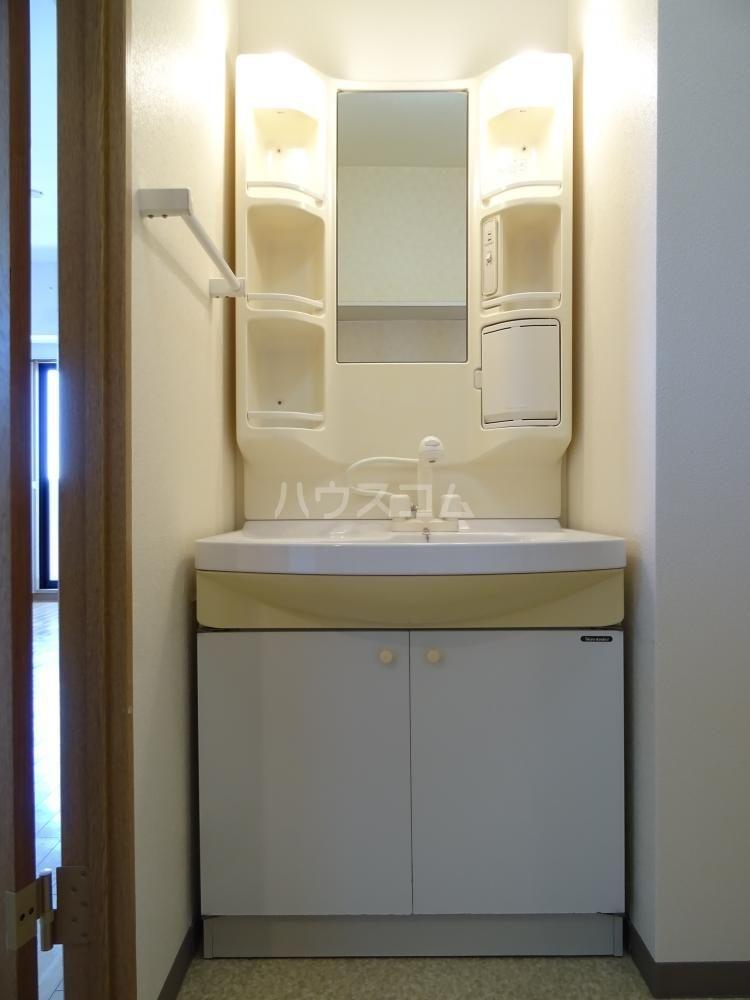 コスモス 601号室の洗面所