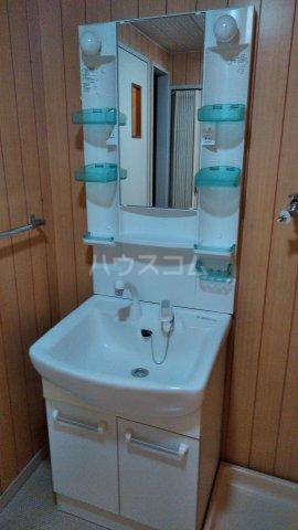 シャトーサンハイム 405号室の洗面所