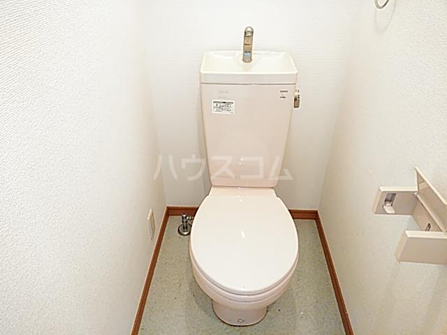 フォレストハイム 101号室のトイレ