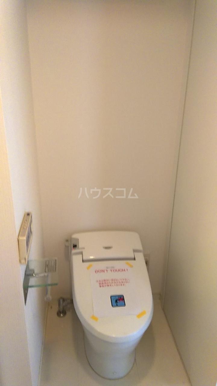 レジディア目白Ⅱ 405号室のトイレ
